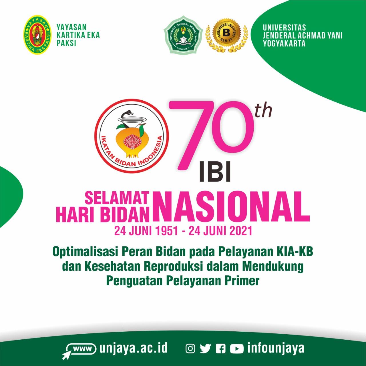 Selamat Hari Bidan Nasional, 24 Juni 2021